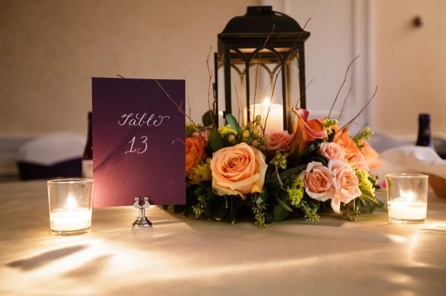 Image of wedding table