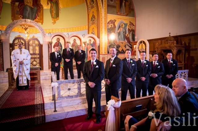 image of groomsman at wedding