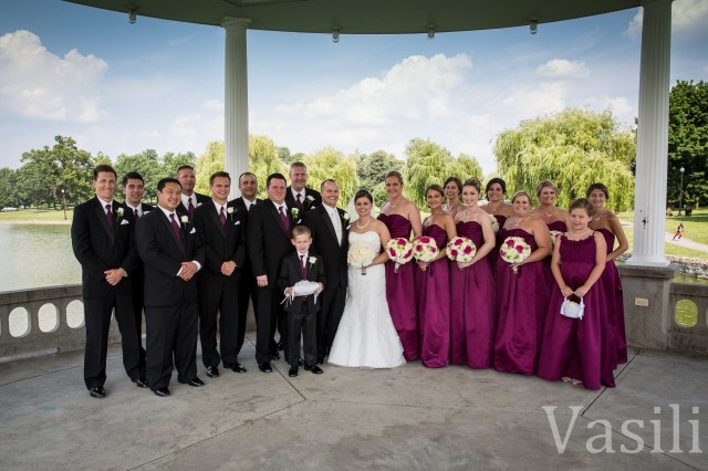image of wedding party