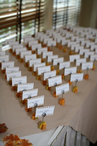 image of seating cards