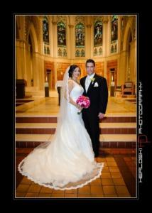image of tatiana & david Wedding day